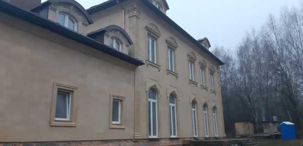 Фасад Дом Новая Рига Песчаник