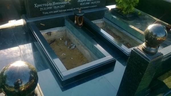 Мемореальный комплекс Истра Гранит Габро