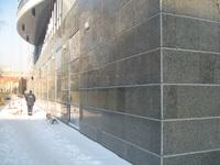 Отделка фасадов гранитом